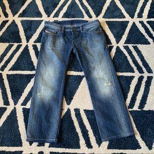 Diesel Safado Regular Slim Straight Jeans 34x27